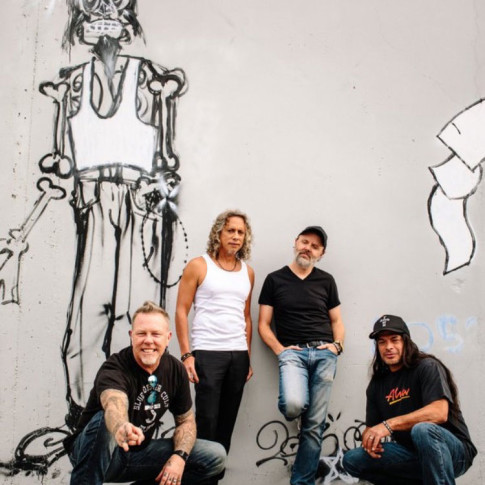 Metallica commissioned Matthew Olyphant for this wall art